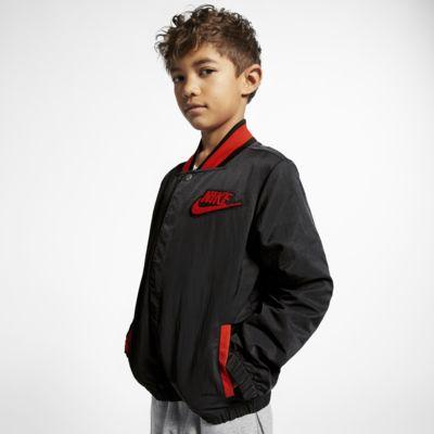 """Bunda Nike Sportswear """"Hoopfly"""" pro větší děti (chlapce)"""