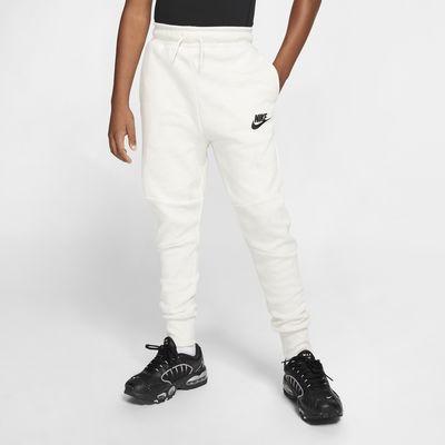 Nike Sportswear tech-fleecebukse til store barn
