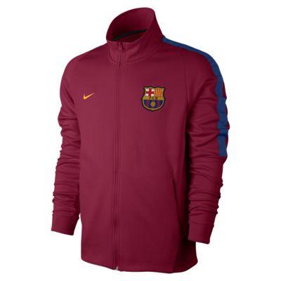 fc barcelona franchise men 39 s football jacket gb. Black Bedroom Furniture Sets. Home Design Ideas