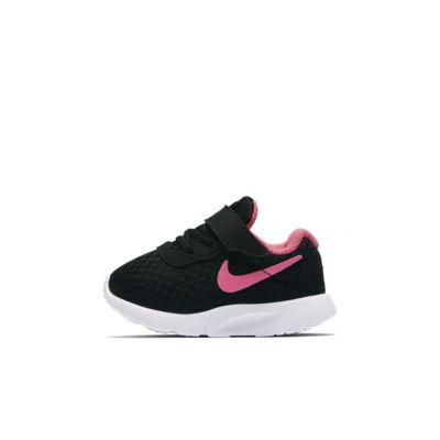 Купить Кроссовки для малышей Nike Tanjun (2C–10C), Черный/Белый/Невероятный розовый, 16750972, 10871324