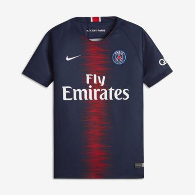 Fotbollströja 2018/19 Paris Saint-Germain Stadium Home för ungdom