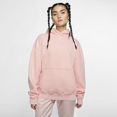 เสื้อมีฮู้ดผู้หญิง Nike x Olivia Kim