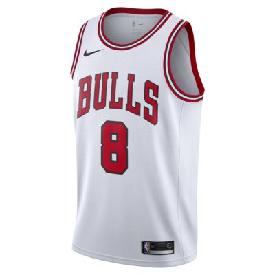 Camiseta conectada para hombre Nike NBA Zach LaVine Association Edition Swingman (Chicago Bulls)