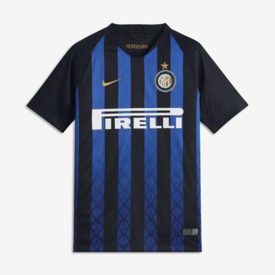 Maillot de football 2018/19 Inter Milan Stadium Home pour Enfant plus âgé