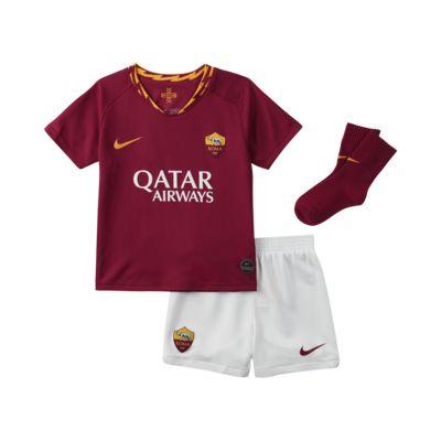 Fotbollsställ A.S. Roma 2019/20 Home för baby/små barn