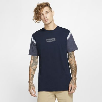 T-shirt Hurley One And Only Small Box Dip Dye - Uomo