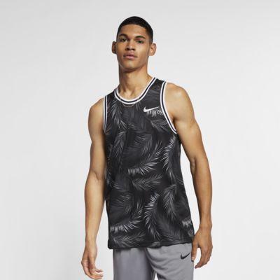 Camiseta de básquetbol estampada para hombre Nike Dri-FIT DNA