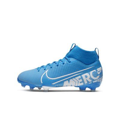 รองเท้าสตั๊ดฟุตบอลเด็กสำหรับพื้นหลายประเภท Nike Jr. Mercurial Superfly 7 Academy MG
