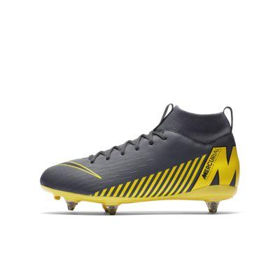 Nike Jr. Mercurial Superfly VI Academy SG-PRO Voetbalschoen voor kleuters/kids (zachte ondergrond)