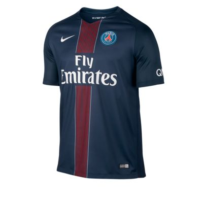 Camiseta de fútbol de local Stadium de Paris Saint-Germain 2016/17 para hombre