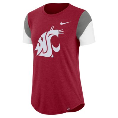 Nike College Fan (Washington State) Women's Tri-Blend T-Shirt