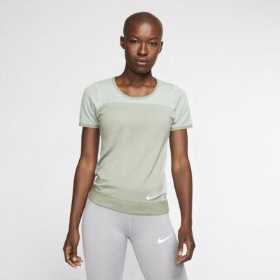 Top da running a manica corta Nike Infinite - Donna