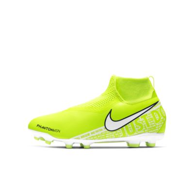 Nike Jr. Phantom Vision Academy Dynamic Fit MG-fodboldstøvle til flere typer underlag til små/store børn