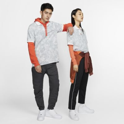 The Nike Polo Floral 男子翻领T恤