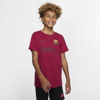 FC Barcelona T-skjorte til store barn
