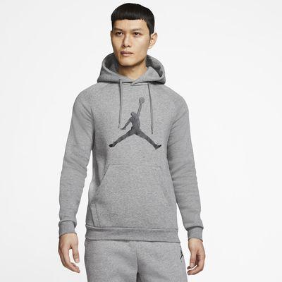 Sweat à capuche en tissu Fleece Jordan Jumpman Logo pour Homme