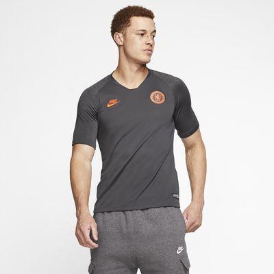 Haut de football à manches courtes Nike Breathe Chelsea FC Strike pour Homme