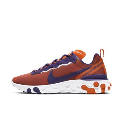 Nike React Element 55 (Clemson) Men's Shoe