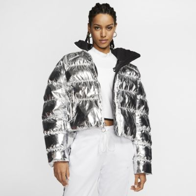 Nike x Olivia Kim Folien-Puffer-Jacke