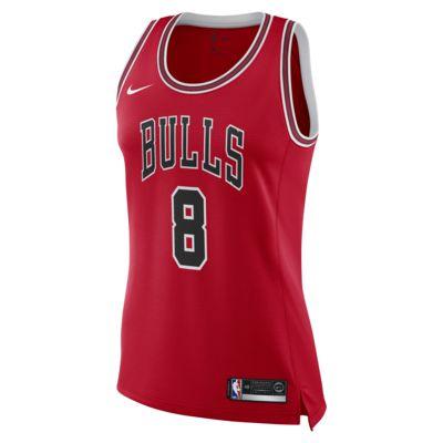 เสื้อแข่ง Nike NBA Connected ผู้หญิง Zach LaVine Icon Edition Swingman (Chicago Bulls)