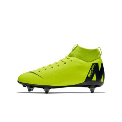 Nike Jr. Mercurial Superfly VI Academy Younger/Older Kids' SG-PRO Soft-Ground Football Boot