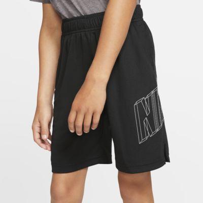 กางเกงเทรนนิ่งขาสั้นเด็กชายมีกราฟิก Nike Dri-FIT
