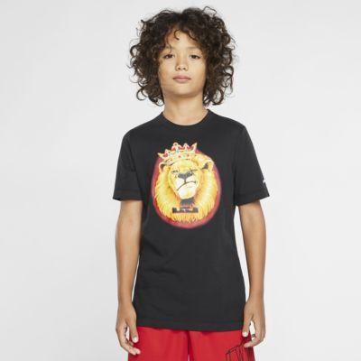 Nike Dri-FIT LeBron大童(男孩)篮球T恤