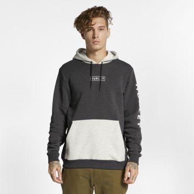 Hurley Charbon Men's Fleece Pullover Hoodie