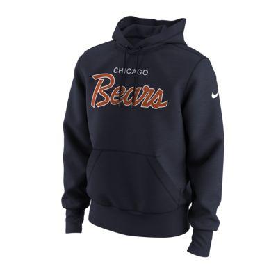 Men's Hoodie. Nike Sport Specialty Script (NFL Bears)
