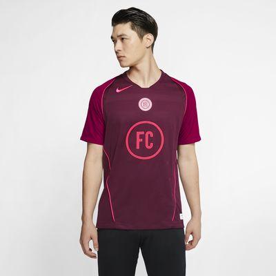 Camiseta de fútbol de manga corta para hombre Nike F.C de local