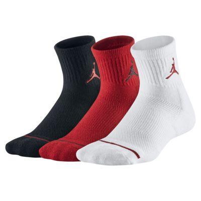 Calze alla caviglia Jordan Jumpman - Ragazzi (3 paia)