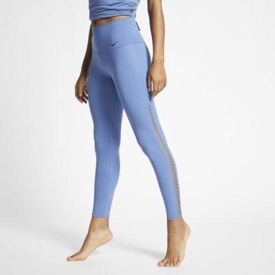 Женские слегка укороченные тайтсы для йоги Nike Dri-FIT Power