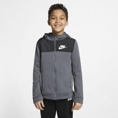 Conjunto de entrenamiento para niño talla grande Nike Sportswear Advance 15
