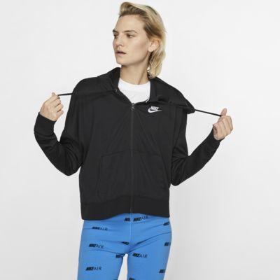 Nike Sportswear hosszú cipzáras, kapucnis női pulóver