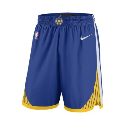 Golden State Warriors Icon Edition Swingman Men's Nike NBA Shorts