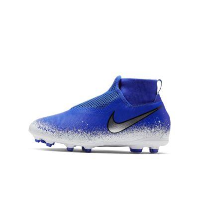 Fotbollssko för varierat underlag Nike Jr. Phantom Vision Academy Dynamic Fit MG för barn/ungdom