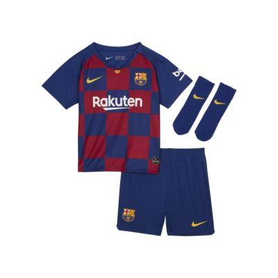 Kit de fútbol de local para bebé e infantil del FC Barcelona 2019/20