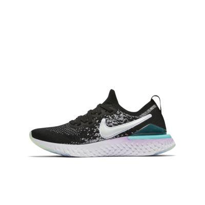 Nike Epic React Flyknit 2 (GS) 大童跑步童鞋