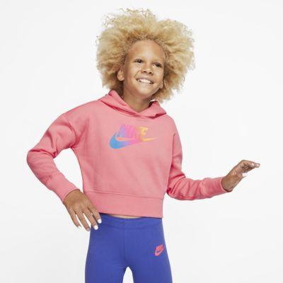 Nike Sportswear Kısaltılmış Genç Çocuk (Kız) Kapüşonlu Üst