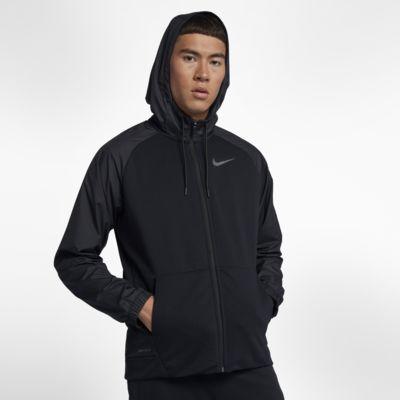 Nike Dri-FIT-træningshættetrøje til hverdagsbrug med lynlås til mænd