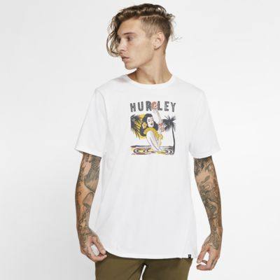 Playera para hombre Hurley Premium Tropics Del Muerte