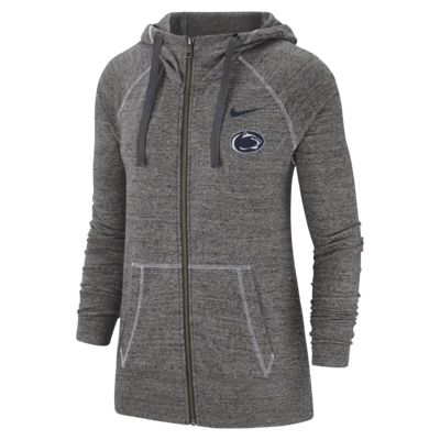 Nike College Gym Vintage (Penn State) Women's Full-Zip Hoodie