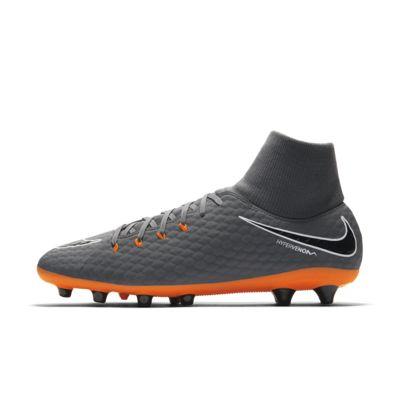 Купить Мужские футбольные бутсы для игры на искусственном газоне Nike Hypervenom Phantom III Academy Dynamic Fit AG-PRO