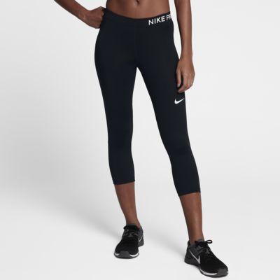 Träningstights i trekvartslängd Nike Pro för kvinnor