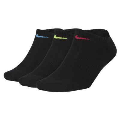 ถุงเท้าเทรนนิ่ง Nike Performance Cushioned No-Show (3 คู่)