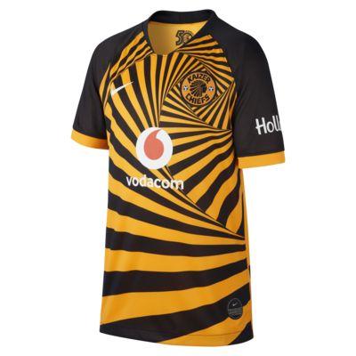 Koszulka piłkarska dla dużych dzieci Kaizer Chiefs F.C. 2019/20 Stadium Home