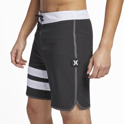 "Hurley Phantom Block Party Solid Men's 18"" Board Shorts"