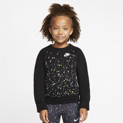Nike Sportswear Little Kids' Long-Sleeve Crew