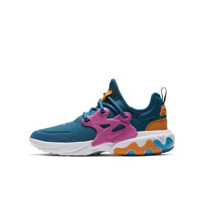 Nike React Presto sko til store barn