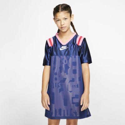 Nike Sportswear Big Kids' (Girls') Short-Sleeve Dress